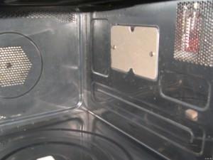 Ремонт микроволновки – замена слюдяной пластины